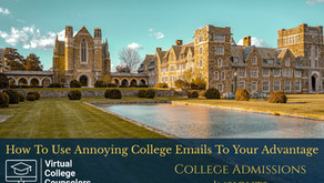 How to Use Annoying College Emails to Your Advantage