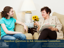 Standout Questions to Ask Admissions Counselors