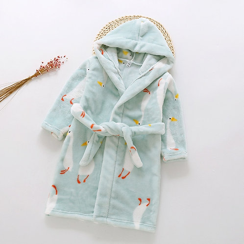 Likable Kids' Stuff | likable.com.au | Cozy Pastel Kids' Gowns | Kid's Dressing Gown | Kid's Sleeping Robe