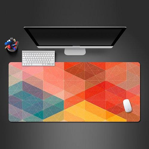 Likable Kids' Stuff | likable.com.au | Colourful Geometric Desk Mat Desk Pad | Large Gaming Pad Mouse Pad