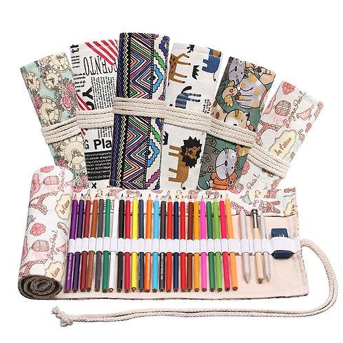 Likable Art & Craft | likable.com.au | Roll-up pencil case