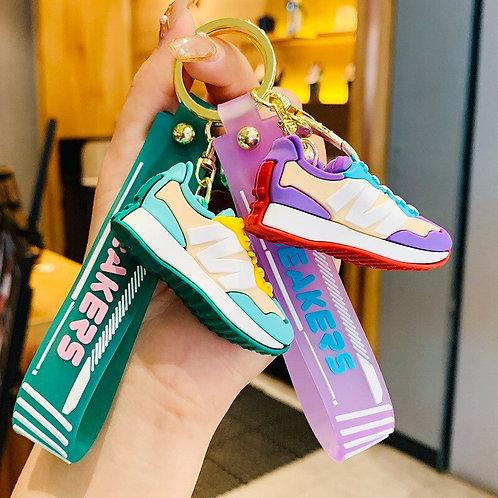 Likable Kids' Stuff   likable.com.au   Mini Sneakers Bag Charm   Gift for kids   Mini Sneakers Keyring