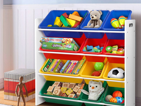3 Simple Toy Storage Ideas for Your Home