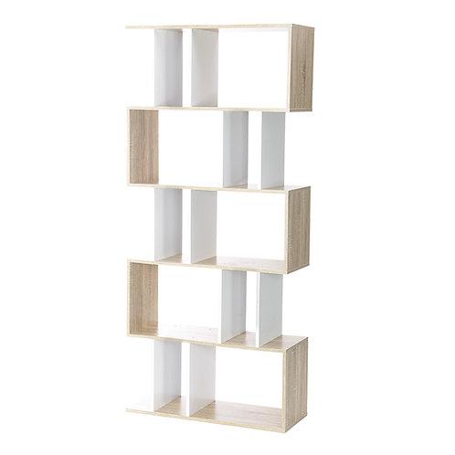 likable.com.au   Likable Bookshelf   Divider 5 Tier Display Shelf