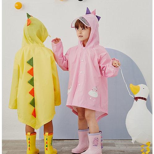 Likable Kids' Stuff   likable.com.au   Cute Cartoon Dinosaur Children Raincoat   Dinosaur Rain Jacket   Kids Rain Jacket