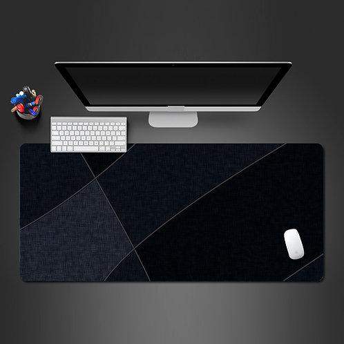 Likable Kids' Stuff | likable.com.au | Sophisticated Black Desk Mat Desk Pad | Large Gaming Pad Large Mouse Pad
