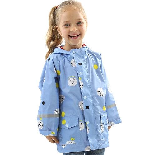 Likable Kids' Stuff | likable.com.au | Kids' Windbreaker Raincoat | Kids' Cotton Lined Rain Jacket