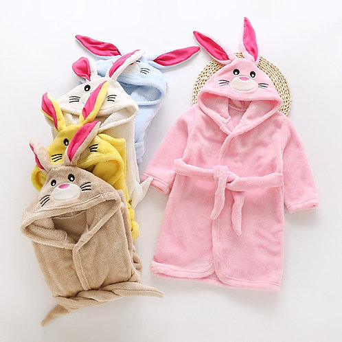 Likable Kids' Stuff   likable.com.au   Novelty Bunny Dressing Gowns   Kid's Rabbit Robe   Bunny Robe