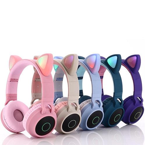 Likable | likable.com.au | Cute Cat Ears Kid's Bluetooth Wireless Earphones | Children's Headphones