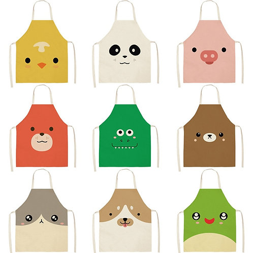 Likable Kids' Stuff   likable.com.au   Animal Print Adult + Child Aprons   Children Apron Animal Print
