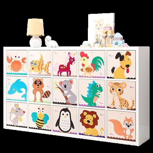 Likable.com.au   Likable Storage   Canvas Storage Cubes  