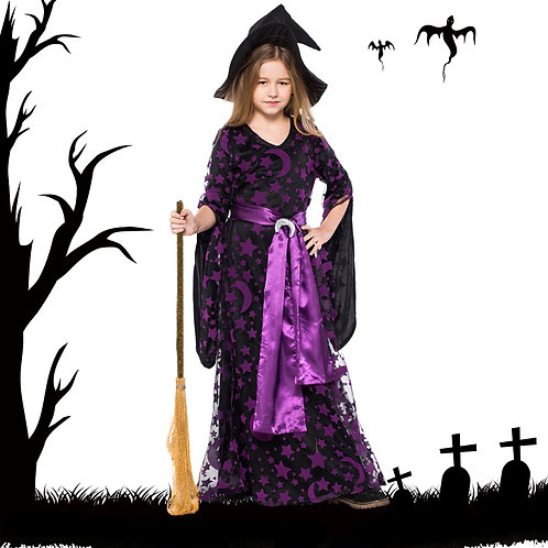 The Moons & Stars Witch Costume