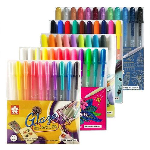 Made in Japan Sakura Gel Pen Sets