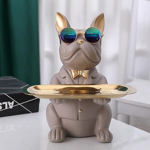 Likable Kids' Stuff   likable.com.au   Sunny Bulldog Trinket Tray   Bulldog ornament   Bulldog decoration   Trinket Tray