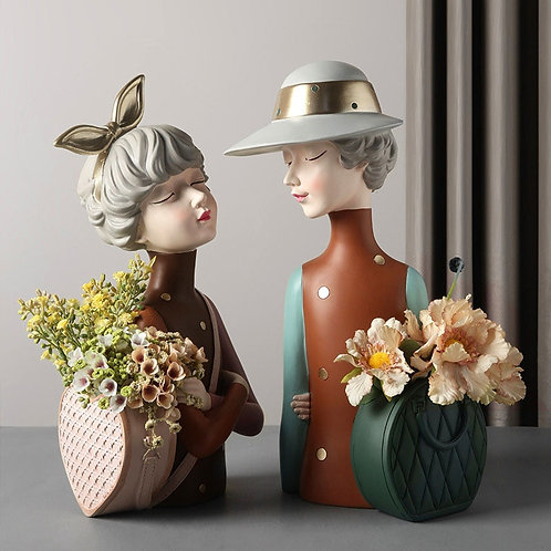 Likable Kids' Stuff | likable.com.au | Lady Elegant Sculpture Vase | Elegant Lady Vase | Decoration | Ornament
