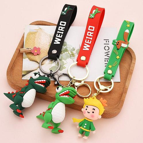 Likable Kids' Stuff | likable.com.au | Roaring Dinosaur Keyring | Dinosaur Bag Charm | Gift for kids | Party favour gifts