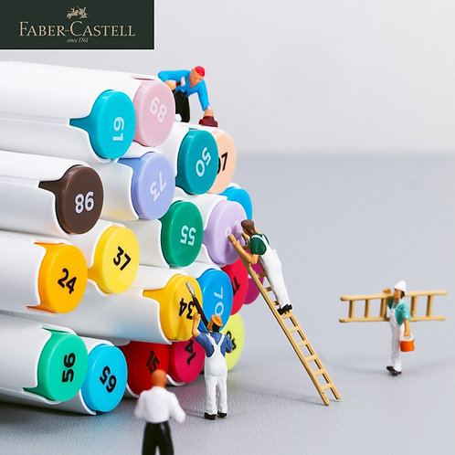 Likable Kids Stuff | likable.com.au | Faber Castell Double-tip colour markers | Double headed professional colour markers