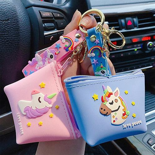 Likable Kids' Stuff | likable.com.au | Unicorn Coin Purse Keyring | Unicorn Bag Charm | Gift for little girls
