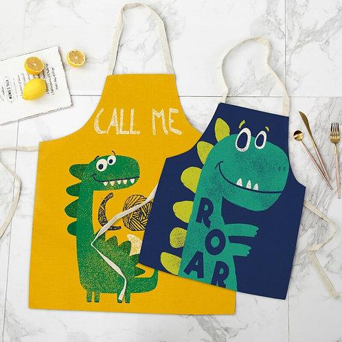 Likable Kids' Stuff   likable.com.au   Matching Adult + Child Cool Dinosaur Aprons   Kids' Apron   Dinosaur Apron