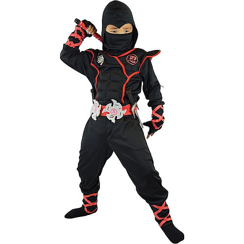 Likable Kids' Stuff   likable.com.au   Stealth Ninja Kid's Costume   Stealth Ninja Kid's dress up   Ninja Party Costume