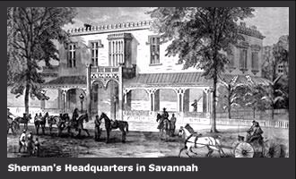 Sherman's Headquarters in Savannah