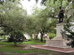 Chippewa Square in Savannah