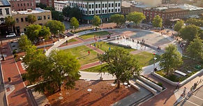 Ellis Square in Savannah