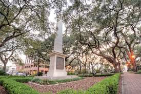 Johnson Square in Savannah