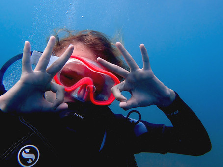 Kids and diving : 6 important tips.