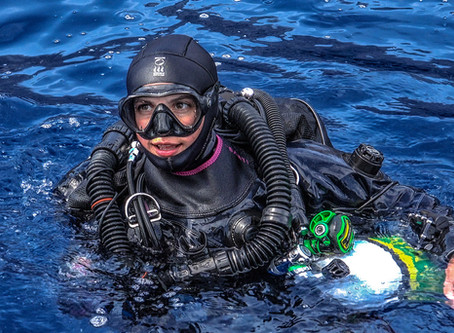 Great Women in Diving : modern fearless trailblazers