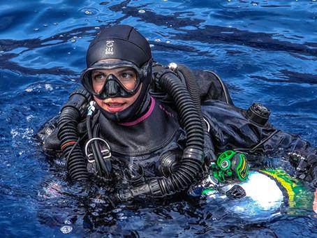 Great Women in Diving : modern fearless trailblazers