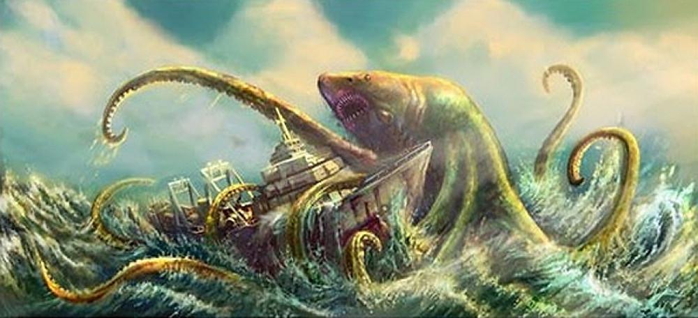Sea monsters mythology