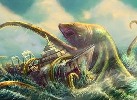 Coolest  mermaids, sea goddesses and female sea monsters (part 2)