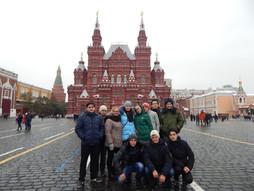 Поездка в Москву делегации студентов, участников межрегионального молодежного Форума «Алтарь Отечест