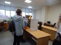 28 ноября в техникуме прошли выборы Председателя Студенческого Совета.