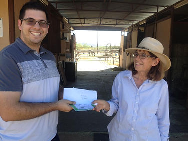 Sticky Saguaro donates to After The Homestretch AZ