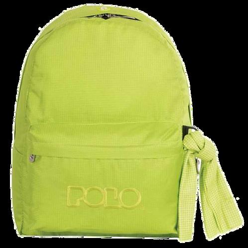 Σχολική τσάντα POLO CLASSIC με Μαντήλι Λαχανί 9-01-135-57