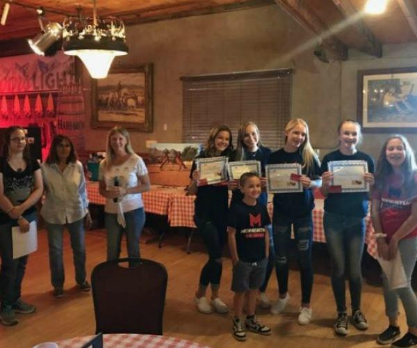 Anniversary Spaghetti Dinner volunteers