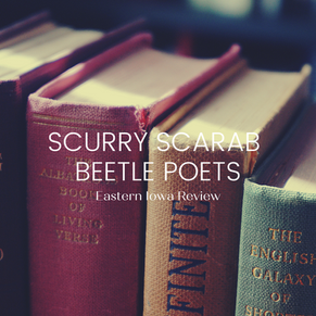 scurry scarab beetle poets