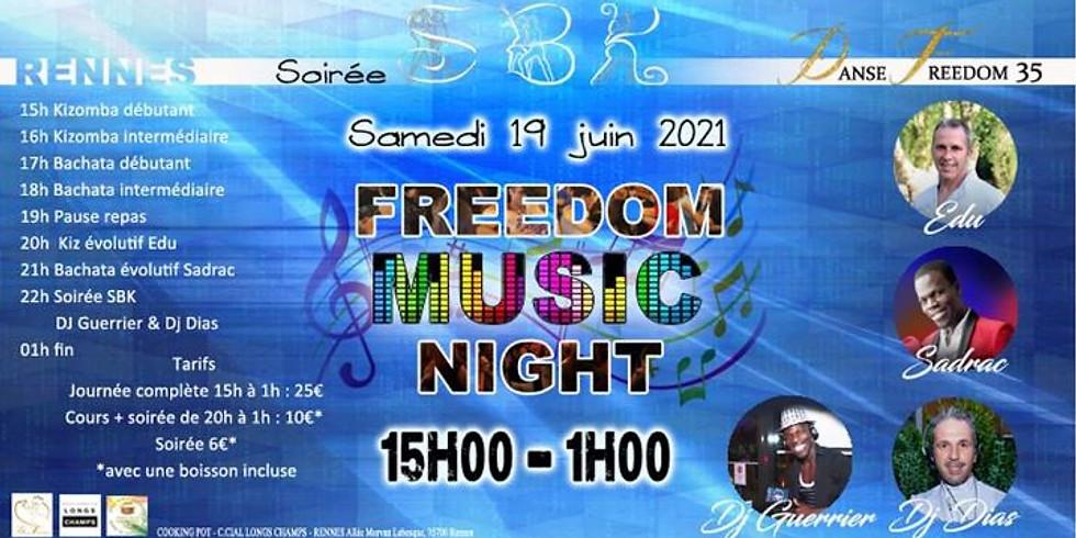 FREEDOM MUSIC NIGHT - DJ GUERRIER & DJ DIAS