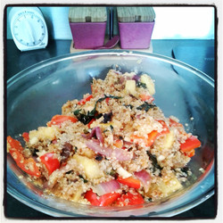 quinoa pineapple stir fry