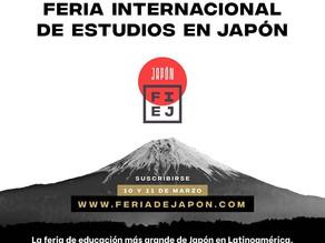 II FERIA VIRTUAL INTERNACIONAL DE ESTUDIOS EN JAPON 2021