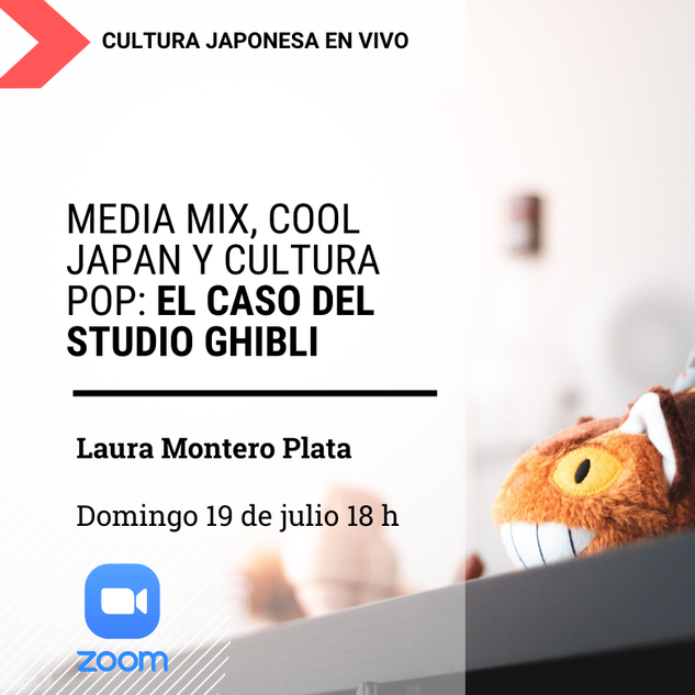 "Seminario: ""Media Mix, Cool Japan y Cultura Pop: el caso del Studio Ghibli"""