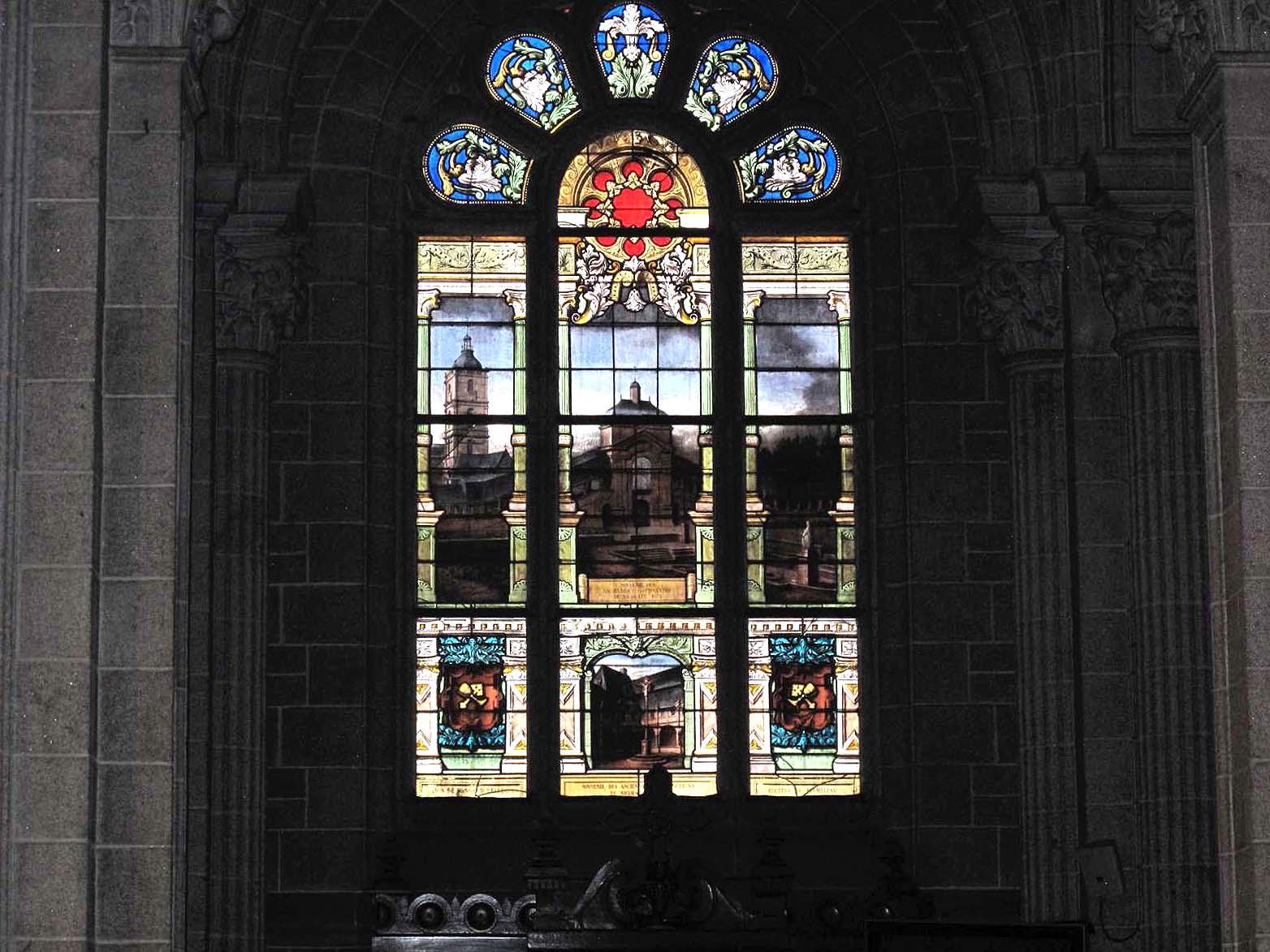 Basilique vitraux 1