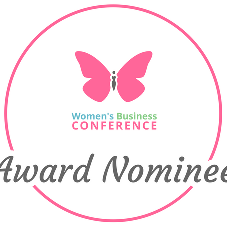 I have been nominated for the Business Mum of the Year Award!