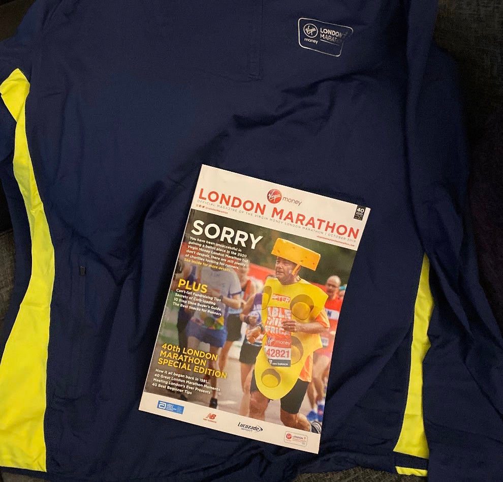And oh yeah, while I was away I also got a lovely new running top to add to the collection…..
