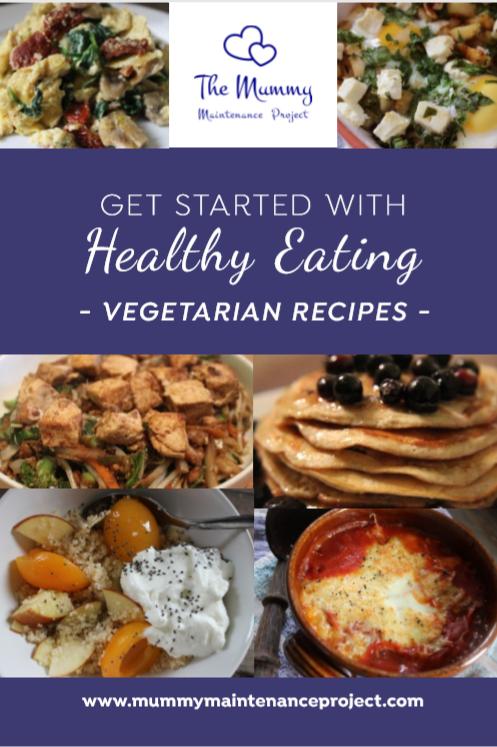 Vegetarian - 21 Easy to Follow Recipes  - eBook