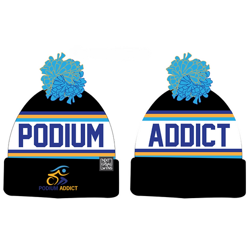 Podium Addict Bobble Hat