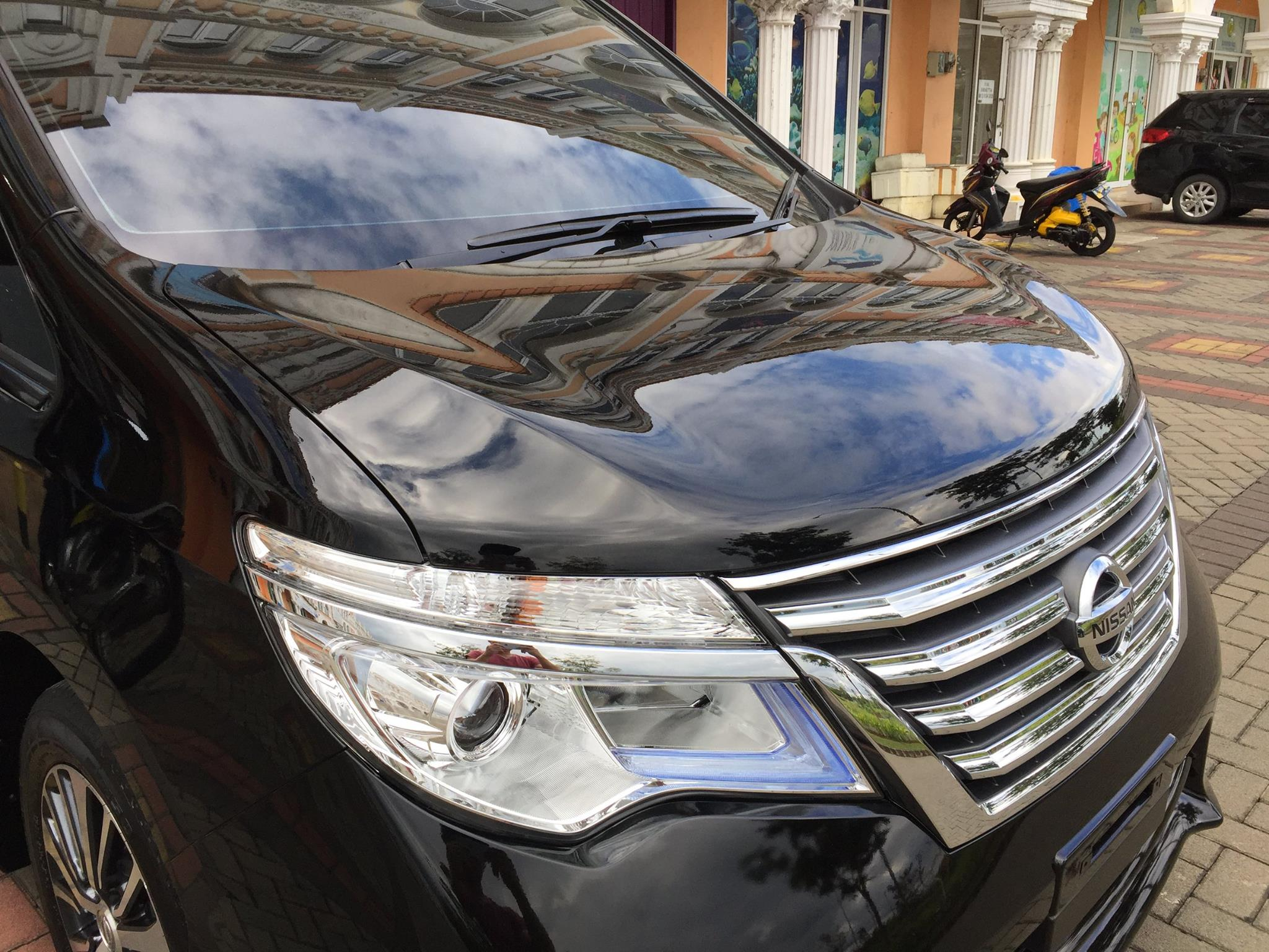 Ceramic Coating Nissan Serena
