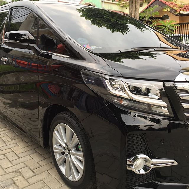 Toyota Alphard done with special request.